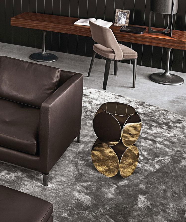 Modello di tavolino da salotto dal design moderno n.13