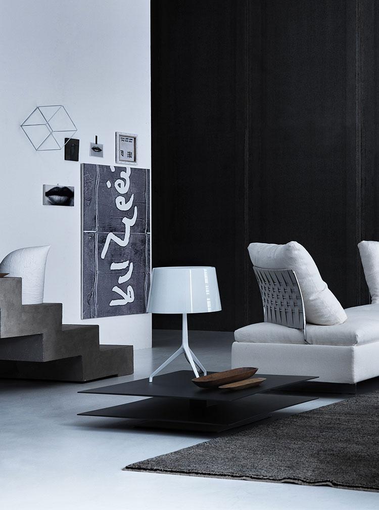 Modello di tavolino da salotto dal design moderno n.14