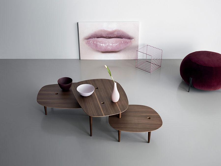 Modello di tavolino da salotto dal design moderno n.15