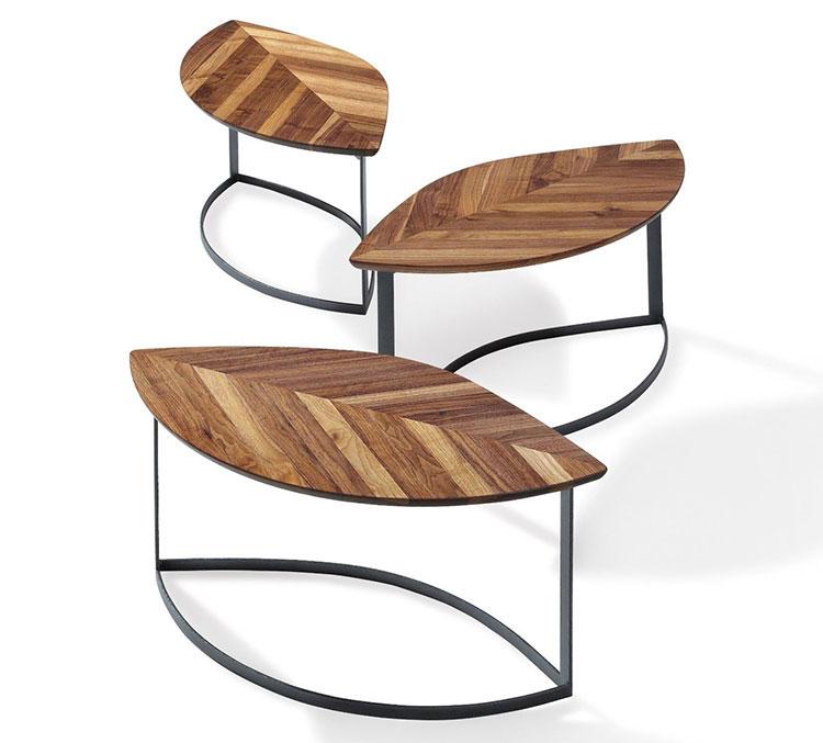 Modello di tavolino da salotto dal design moderno n.16
