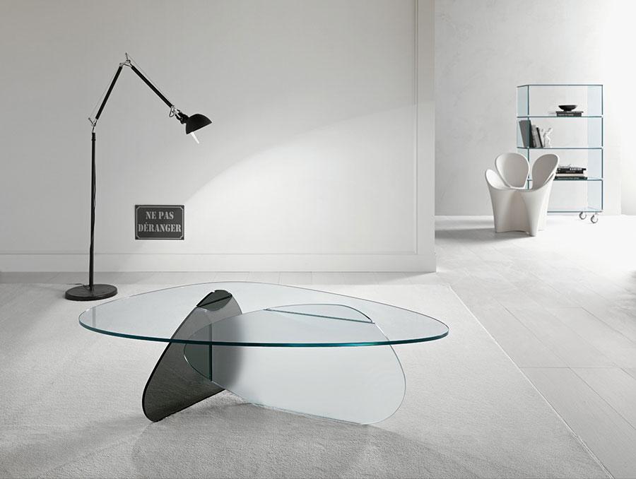 Modello di tavolino da salotto dal design moderno n.17