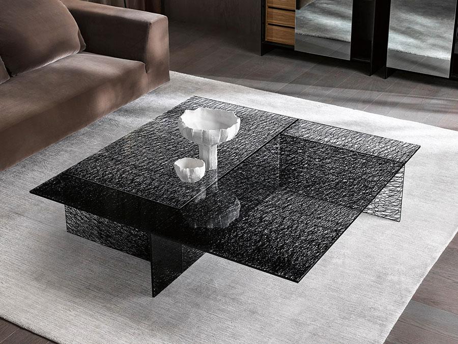 Modello di tavolino da salotto dal design moderno n.18