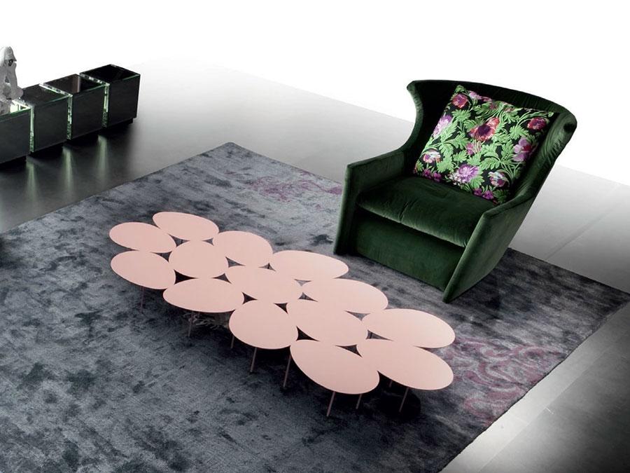 Modello di tavolino da salotto dal design moderno n.19