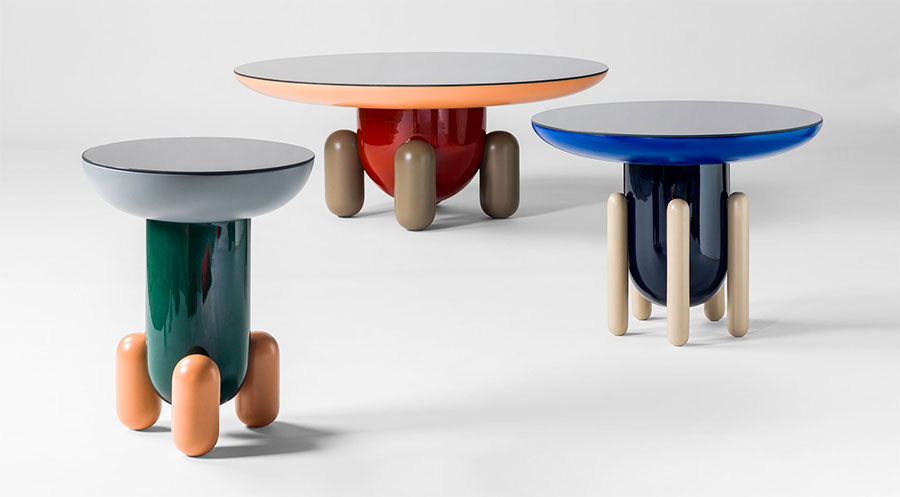 Modello di tavolino da salotto dal design moderno n.27