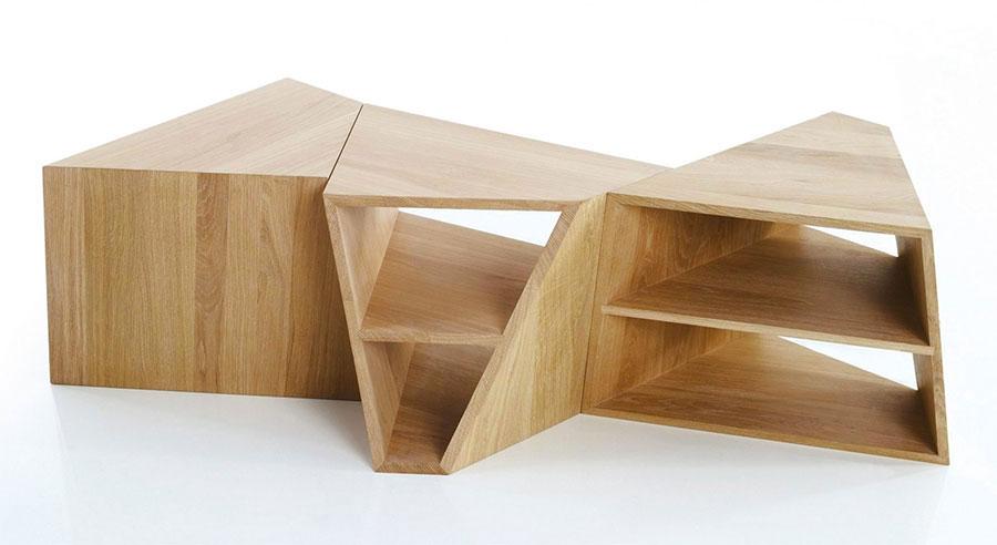 Modello di tavolino da salotto dal design moderno n.28