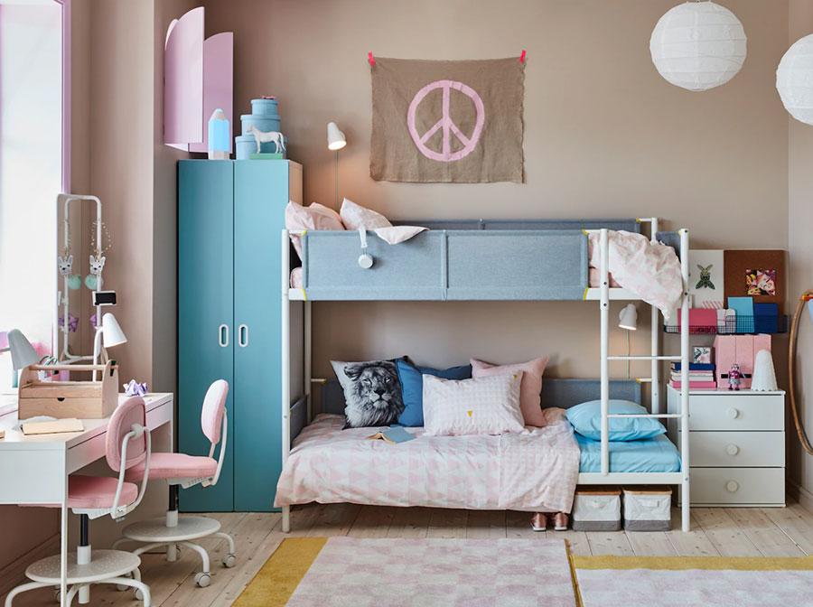 Idee per camerette salvaspazio Ikea n.01