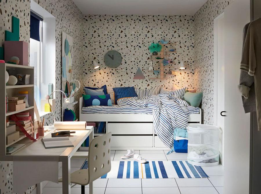 Idee per camerette salvaspazio Ikea n.03
