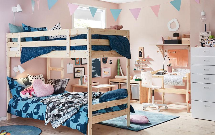 Idee per camerette salvaspazio Ikea n.04