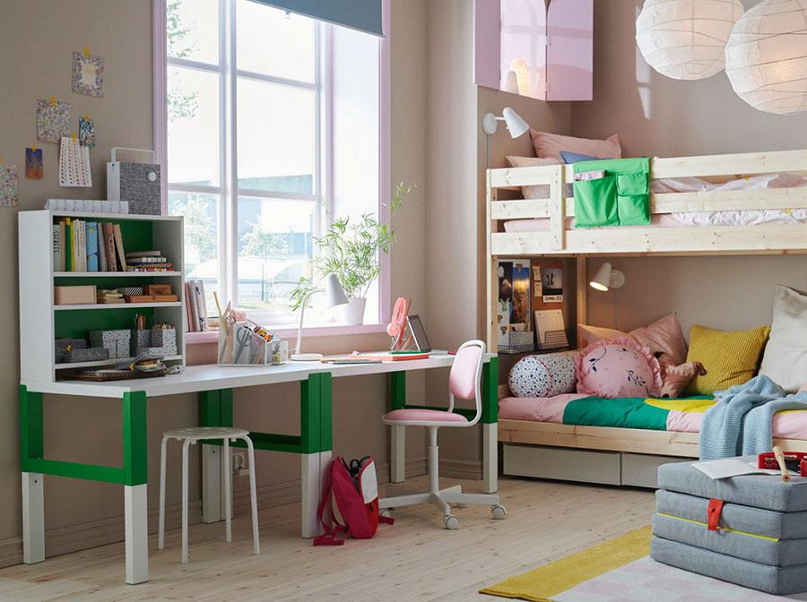 Idee per camerette salvaspazio Ikea n.05