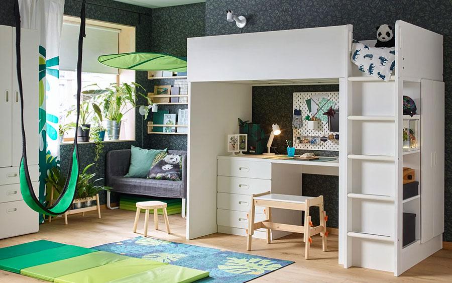 Idee per camerette salvaspazio Ikea n.07