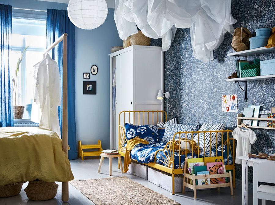 Idee per una cameretta shabby chic Ikea n. 04