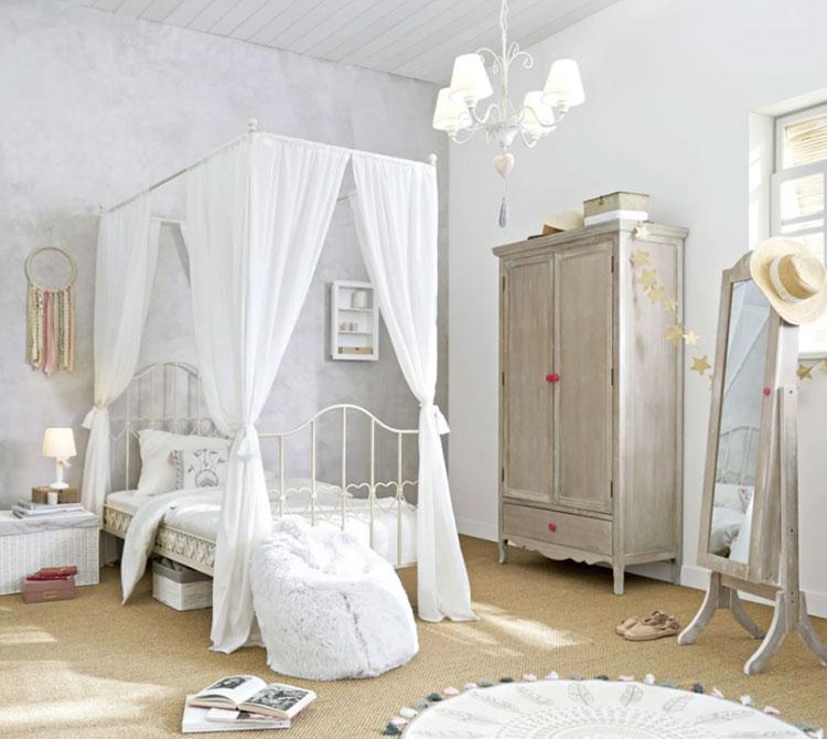 Idee per una cameretta shabby chic Maisons Du Monde n. 01