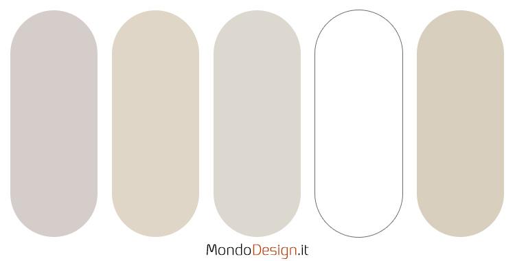 Palette colore avorio 1