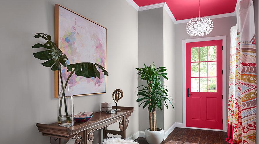 Idee per colori pareti ingresso n.06