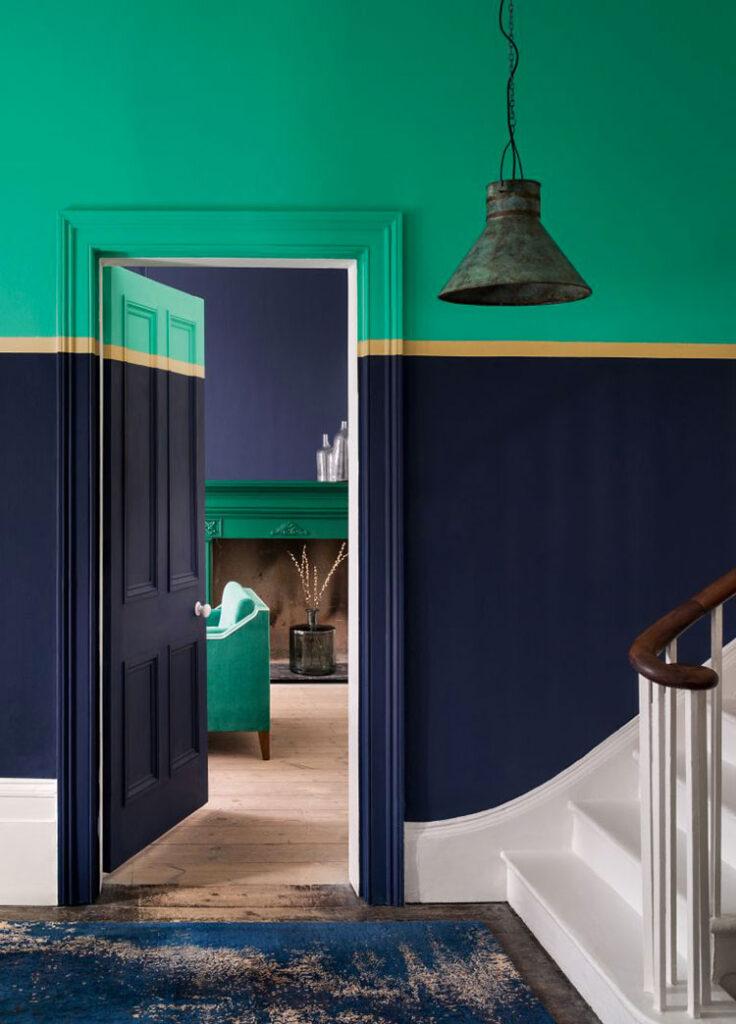 Idee per colori pareti ingresso n.10