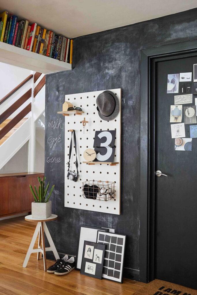 Idee per colori pareti ingresso e soggiorno n.01