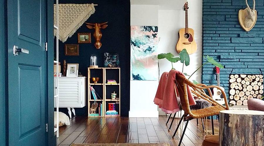 Idee per colori pareti ingresso e soggiorno n.02