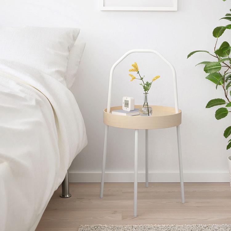 Modello di comodino rotondo Ikea n.04