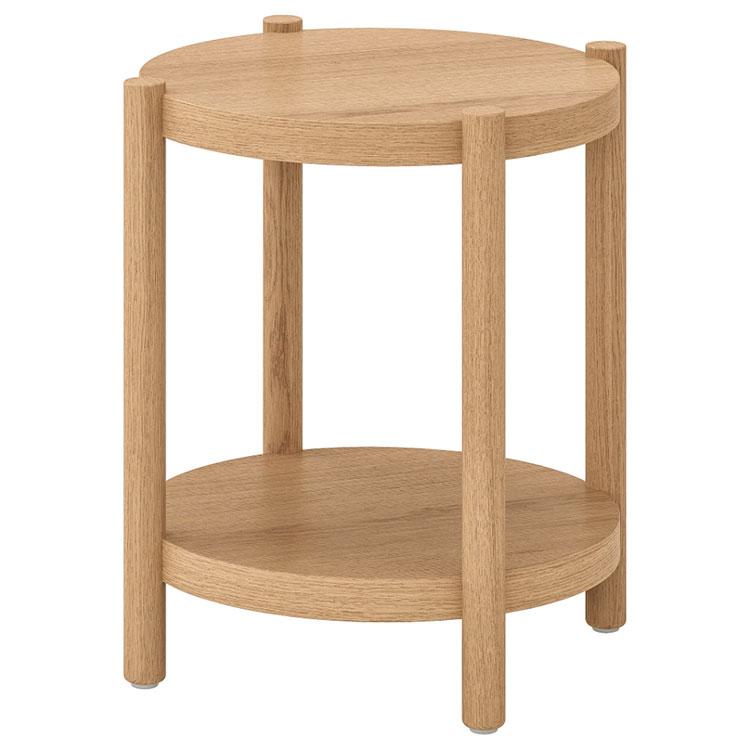 Modello di comodino rotondo Ikea n.05