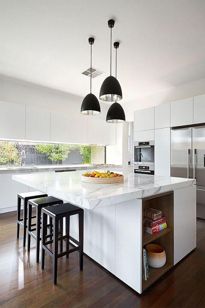 Idee per una cucina finestra lunga n.04