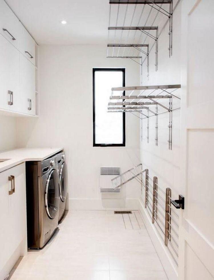 Idee per organizzare una lavanderia piccola n.12