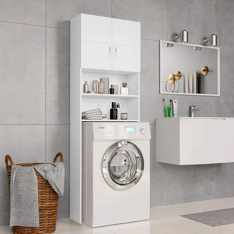 Mobili sopralavatrice per una lavanderia piccola 1