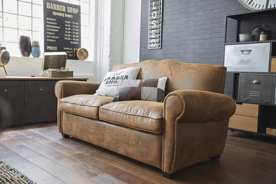 Idee mobili per soggiorno in stile industriale n. 05