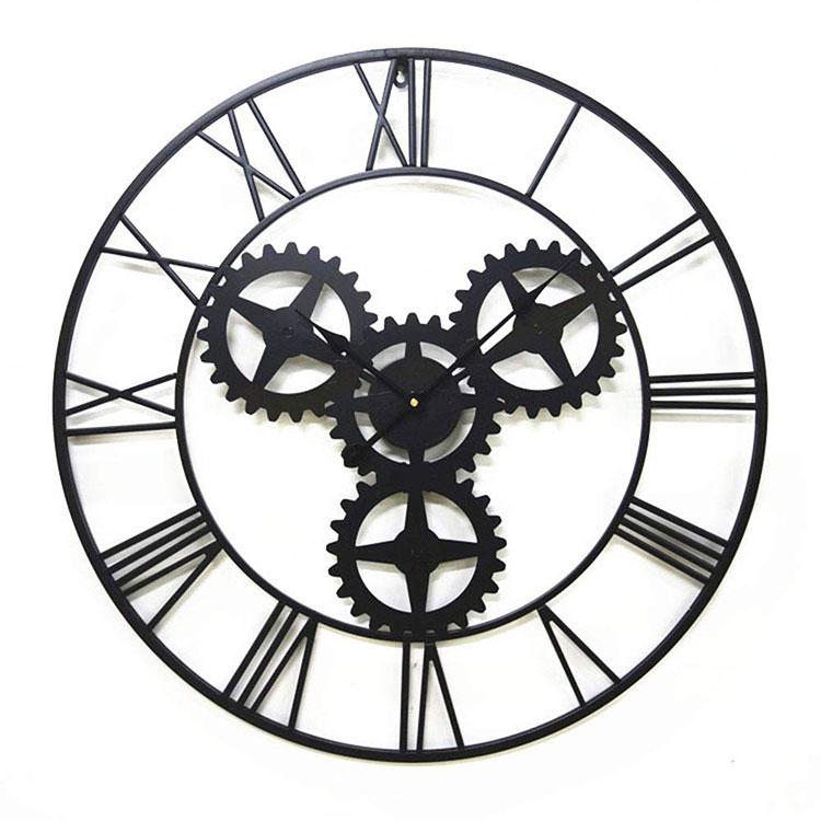 Orologio da parete stile industriale n.02