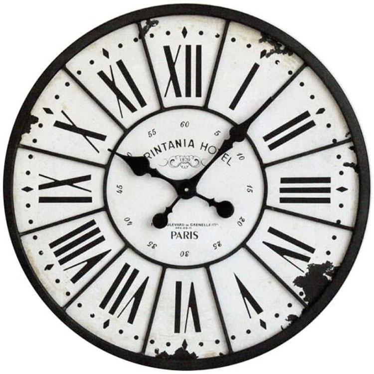Orologio da parete stile industriale n.06
