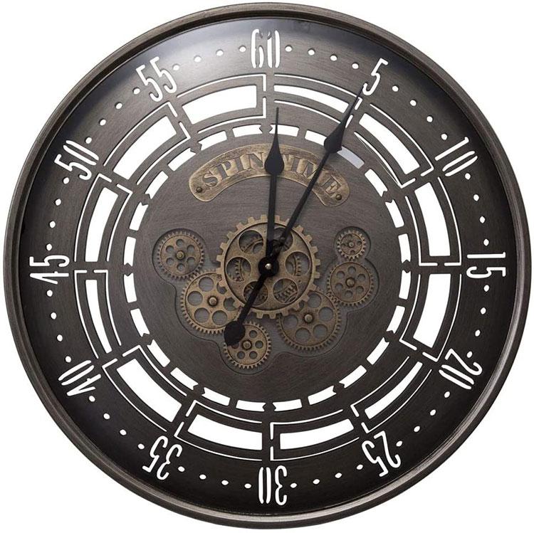 Orologio da parete stile industriale n.07