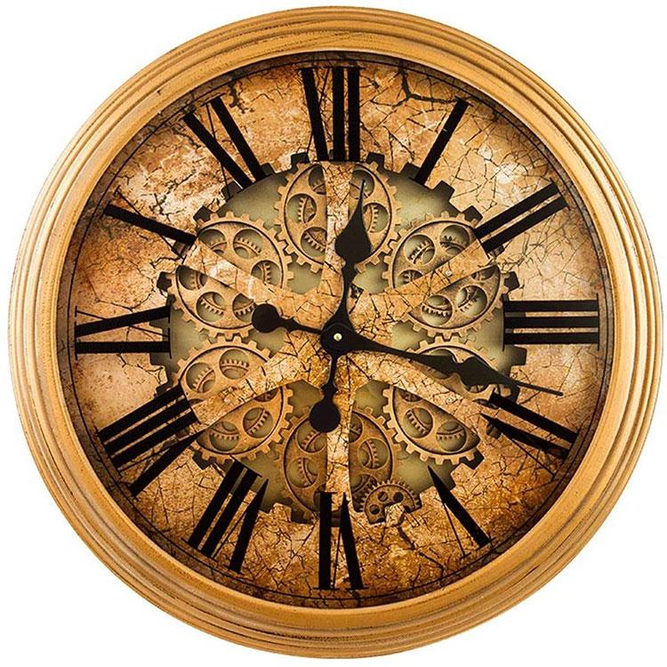 Orologio da parete stile industriale n.09