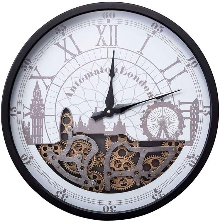 Orologio da parete stile industriale n.10