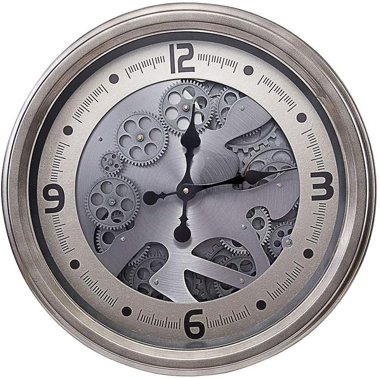 Orologio da parete stile industriale n.11