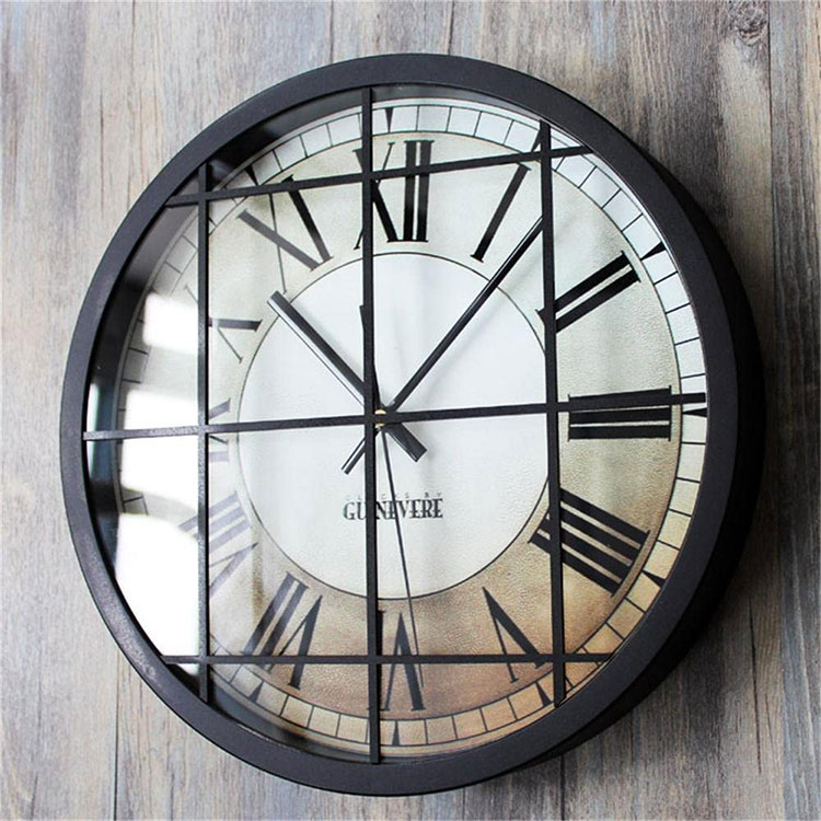 Orologio da parete stile industriale n.12