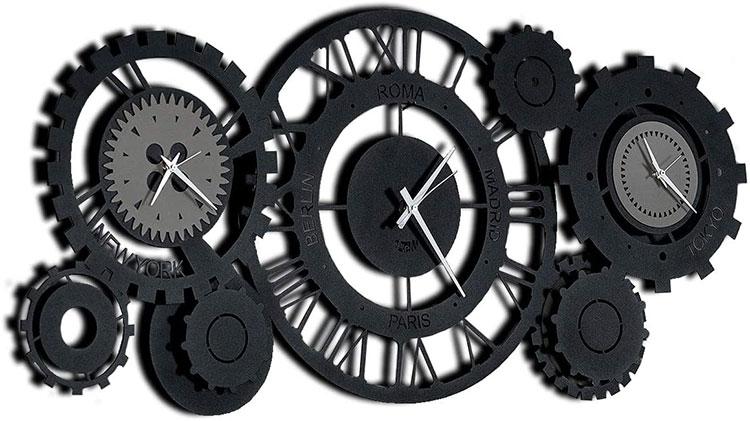 Orologio da parete stile industriale n.15