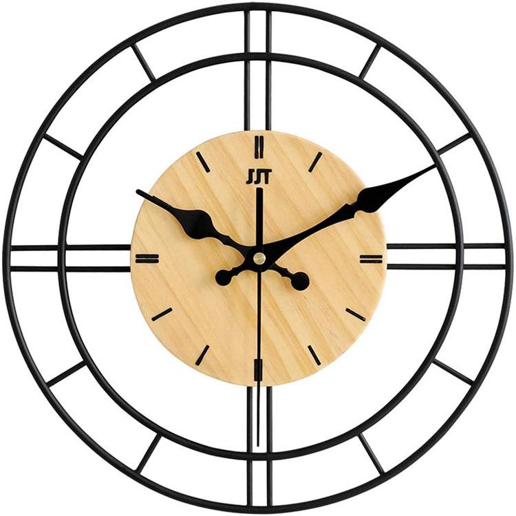 Orologio da parete stile industriale n.18