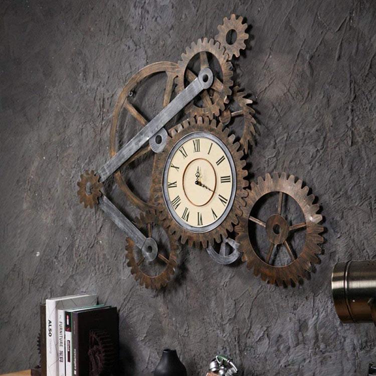 Orologio da parete stile industriale n.19