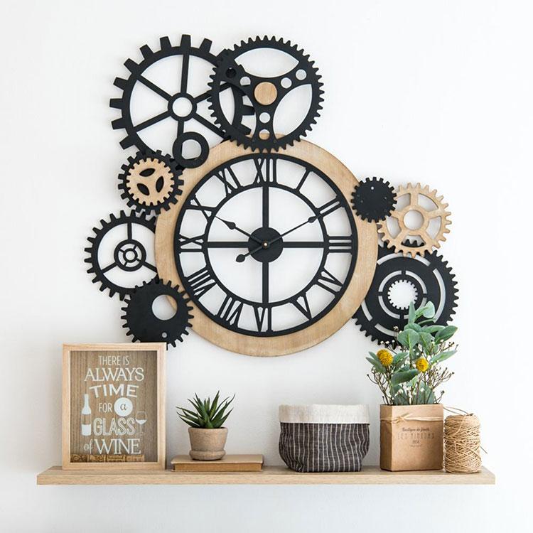 Orologio da parete stile industriale n.21