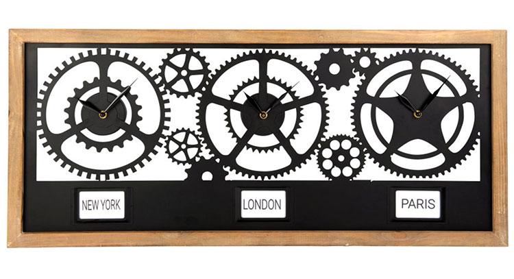 Orologio da parete stile industriale n.23