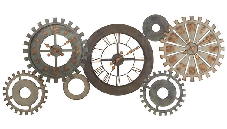 Orologio da parete stile industriale n.25