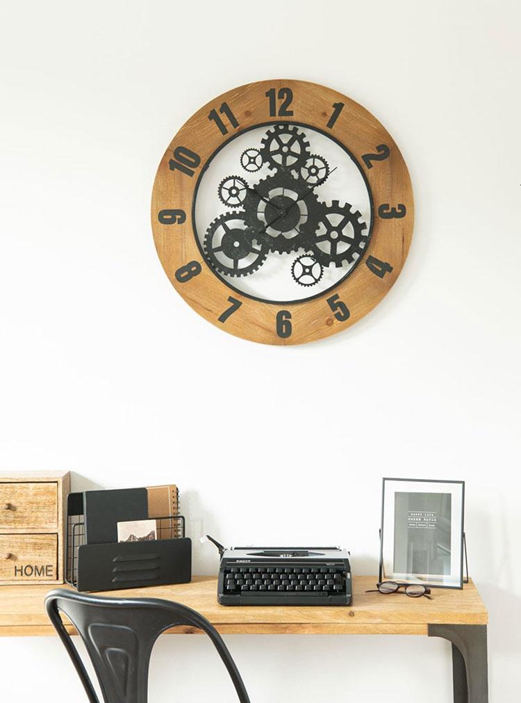 Orologio da parete stile industriale n.26