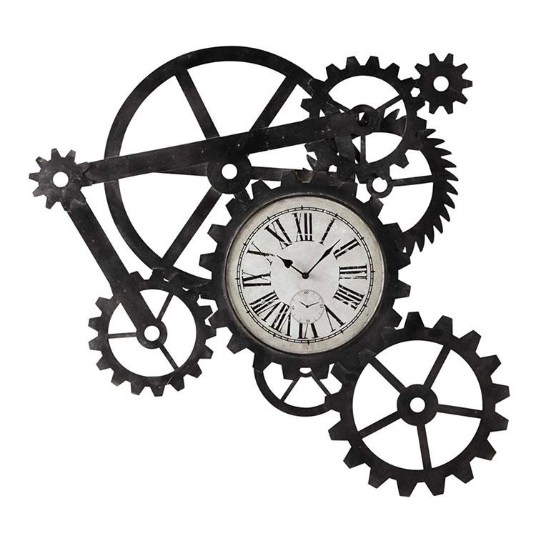Orologio da parete stile industriale n.27