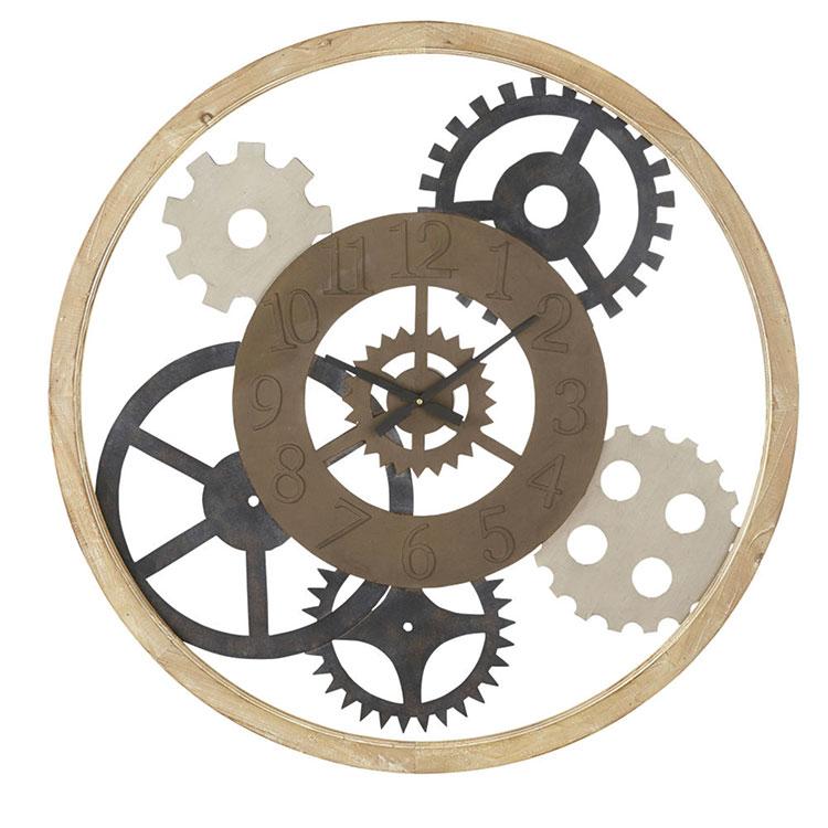 Orologio da parete stile industriale n.31