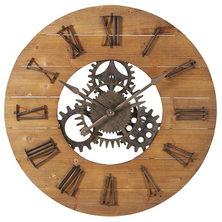 Orologio da parete stile industriale n.32