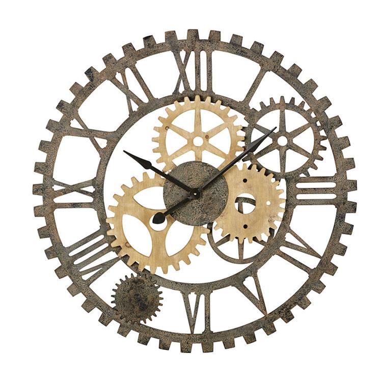 Orologio da parete stile industriale n.35