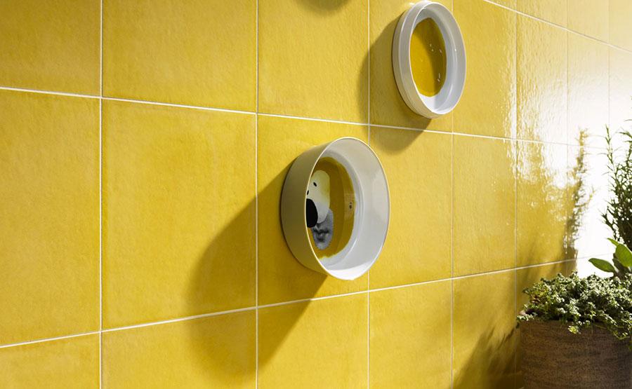 Rivestimenti per bagno giallo 05