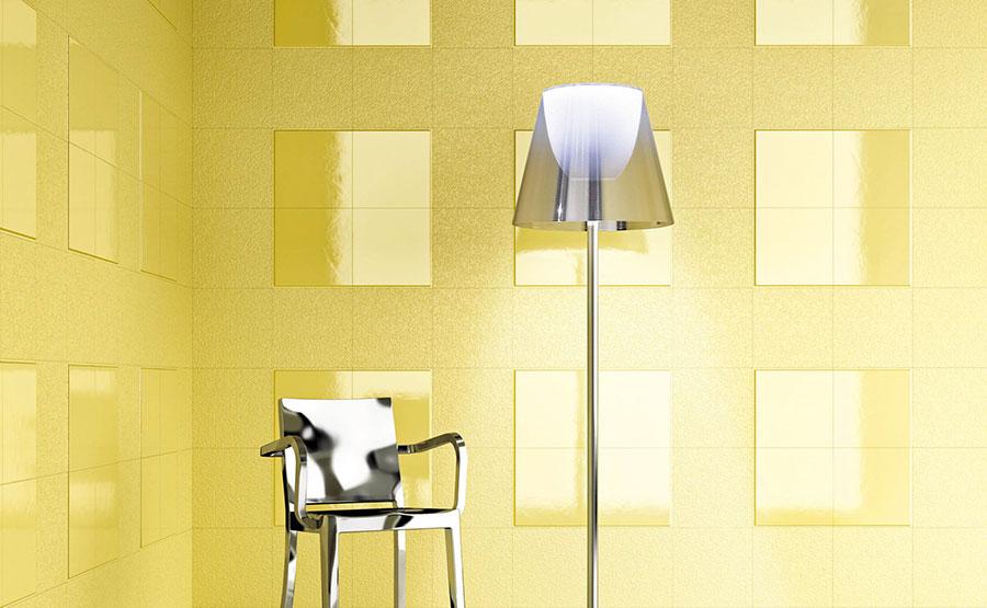 Rivestimenti per bagno giallo 06