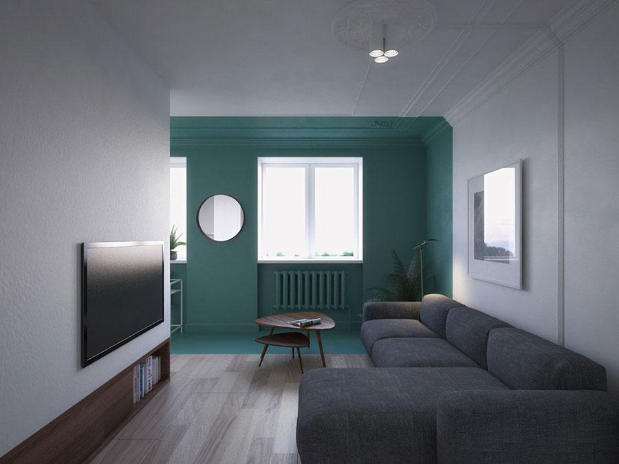 Idee per arredare un soggiorno minimal n.06