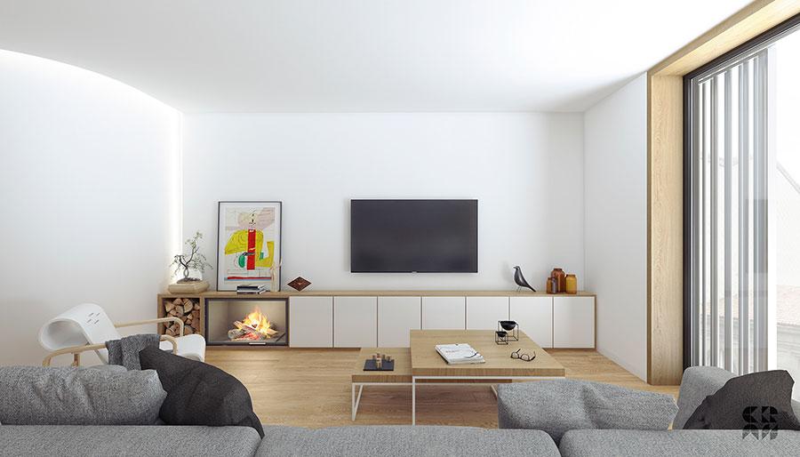 Idee per arredare un soggiorno minimal n.09