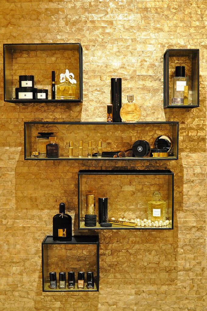 Idee accessori per bagno nero n.04
